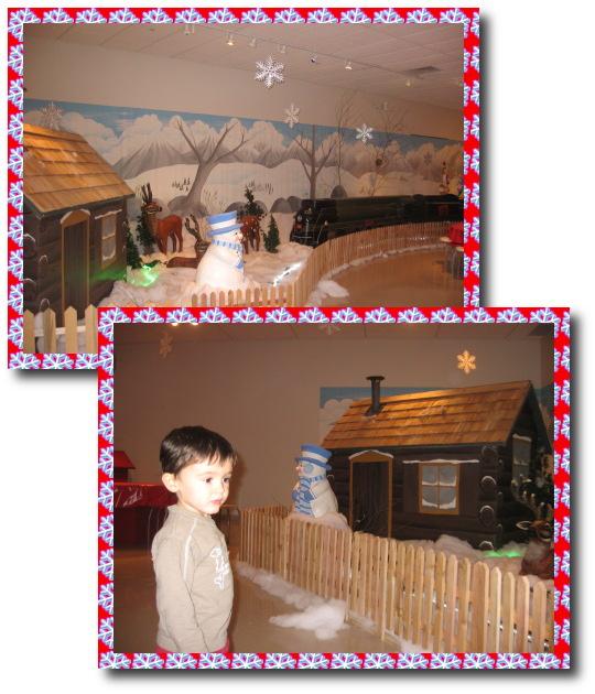 Noël au musée du rail