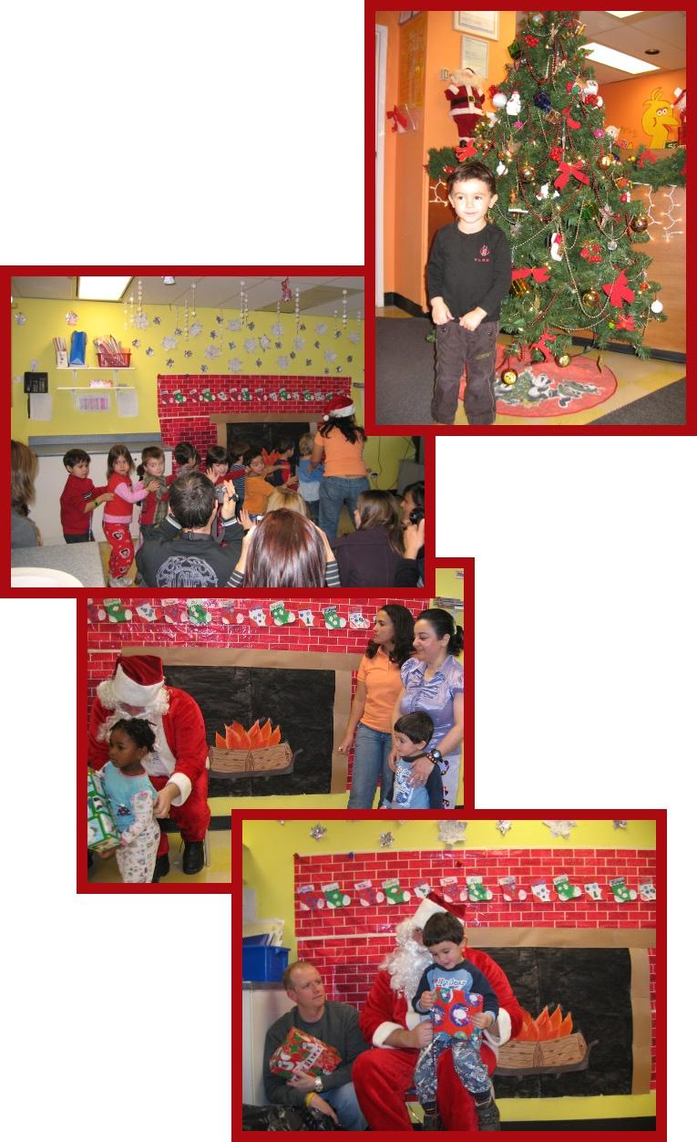 Noël à la garderie