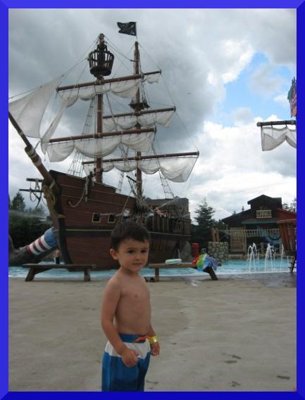 bateau pirates a Val Cartier